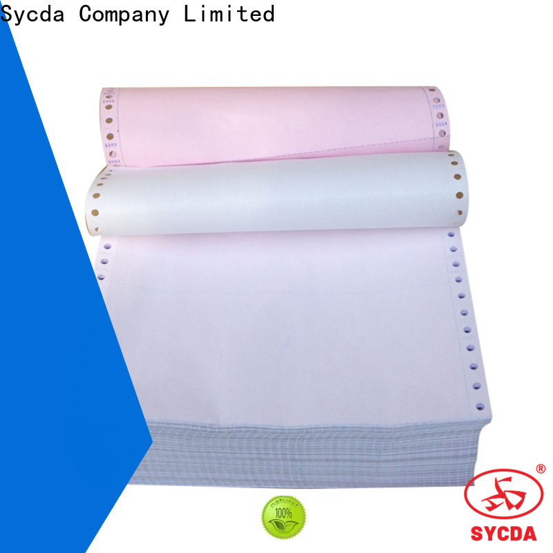 241mm380mm 4 plys ncr paper sheets for banking