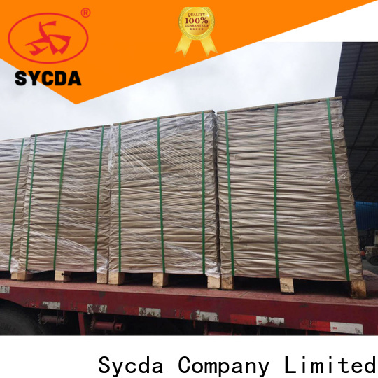 Sycda 610mm860mm 2 plys carbonless paper customized for supermarket