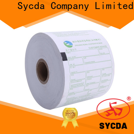 Sycda 110mm thermal paper rolls personalized for lottery