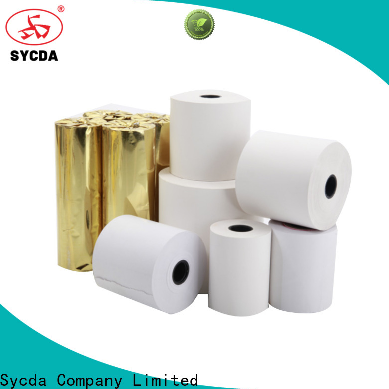 Sycda thermal printer rolls personalized for movie ticket