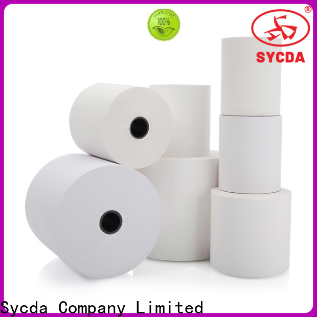 Sycda jumbo thermal paper roll price personalized for lottery