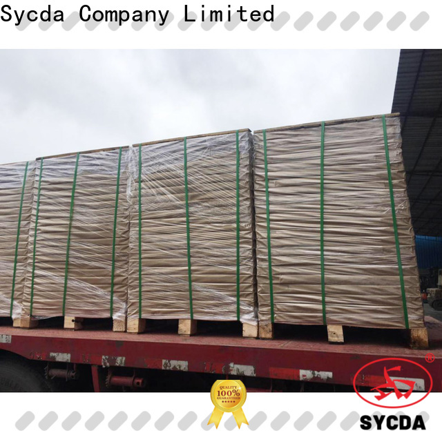 Sycda colorful 2 plys carbonless paper sheets for hospital