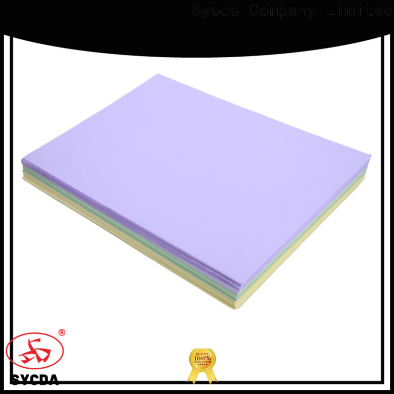 hot selling coated woodfree paper supplier for commercial
