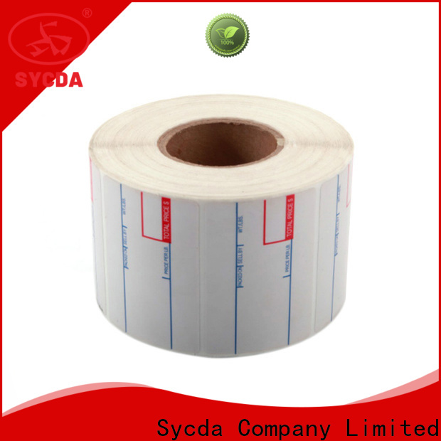 Sycda 44mm printed labels factory for hospital