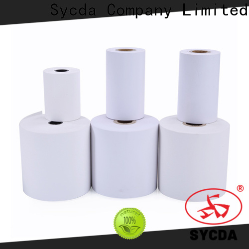 Sycda cash register tape personalized for receipt