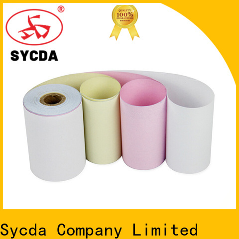 Sycda printed 3 plys carbonless paper directly sale for hospital