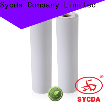 Sycda thermal paper rolls supplier for lottery