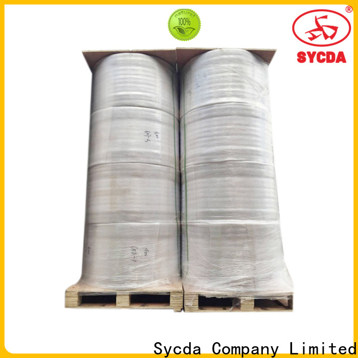 Sycda printed thermal printer rolls personalized for logistics