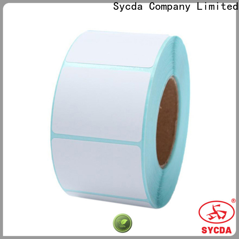Sycda dyed thermal labels factory for aviation field