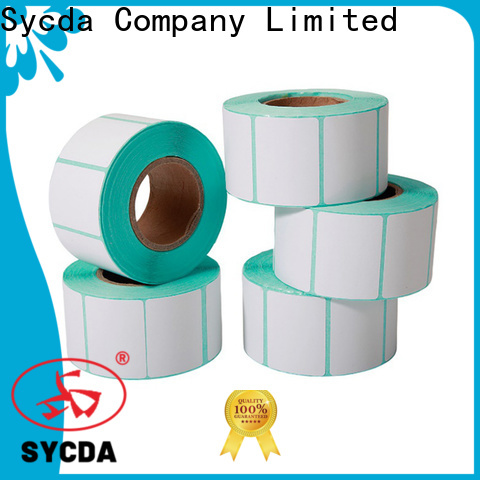 Sycda printed adhesive labels factory for aviation field