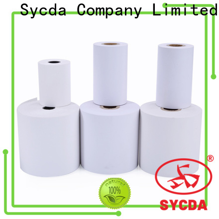 Sycda waterproof thermal printer rolls factory price for receipt