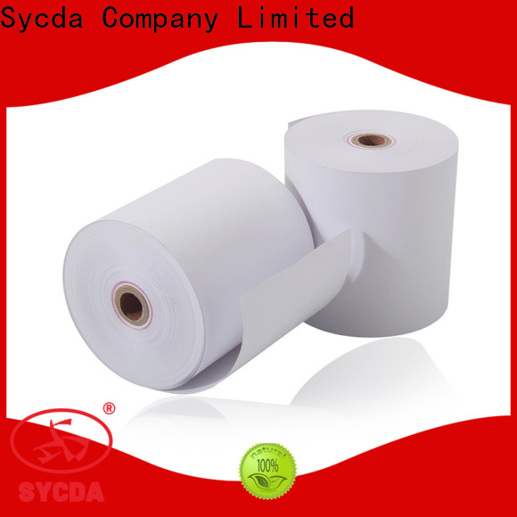 Sycda 80mm pos paper rolls wholesale for retailing system