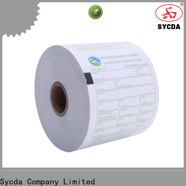 Sycda jumbo register rolls factory price for fax