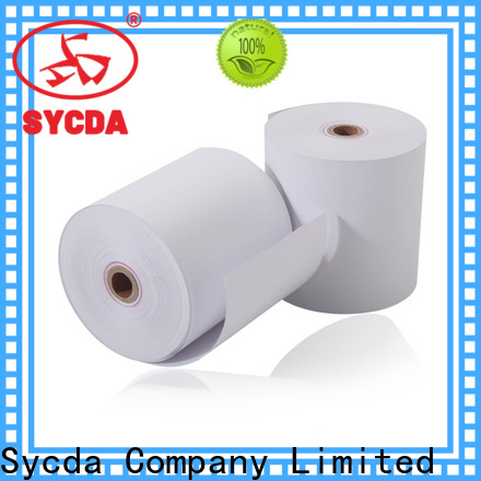 Sycda cash register paper personalized for cashing system