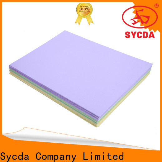 Sycda practical coated woodfree paper factory price for sale