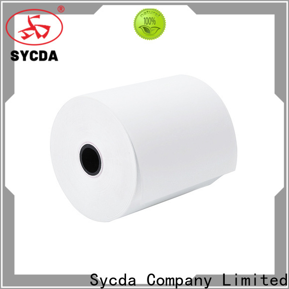 Sycda register rolls personalized for logistics