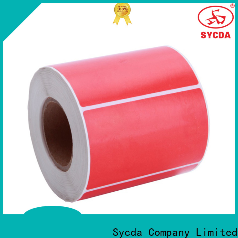 Sycda 30mm printable sticker labels factory for logistics