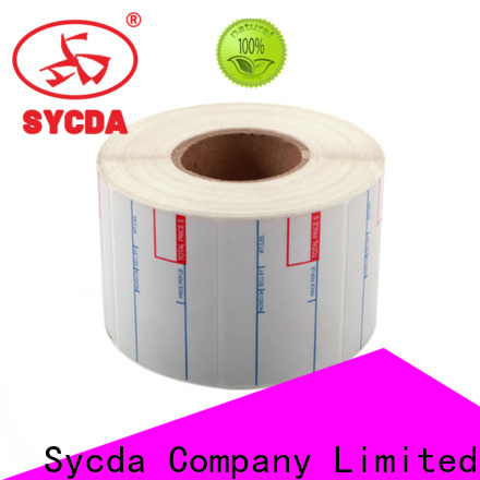 white self adhesive labels atdiscount for banking