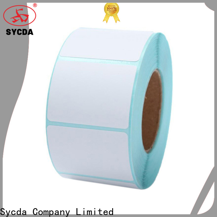 Sycda sticky labels design for aviation field
