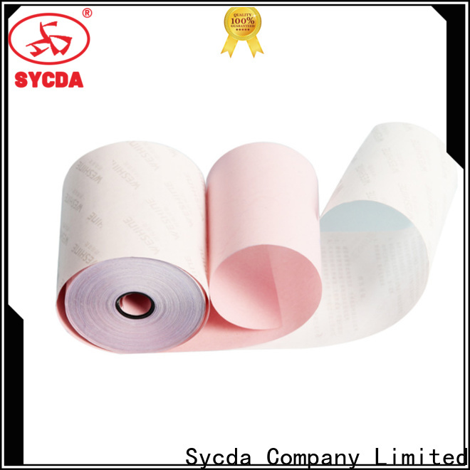 colorful ncr carbonless paper 2 plys directly sale for supermarket