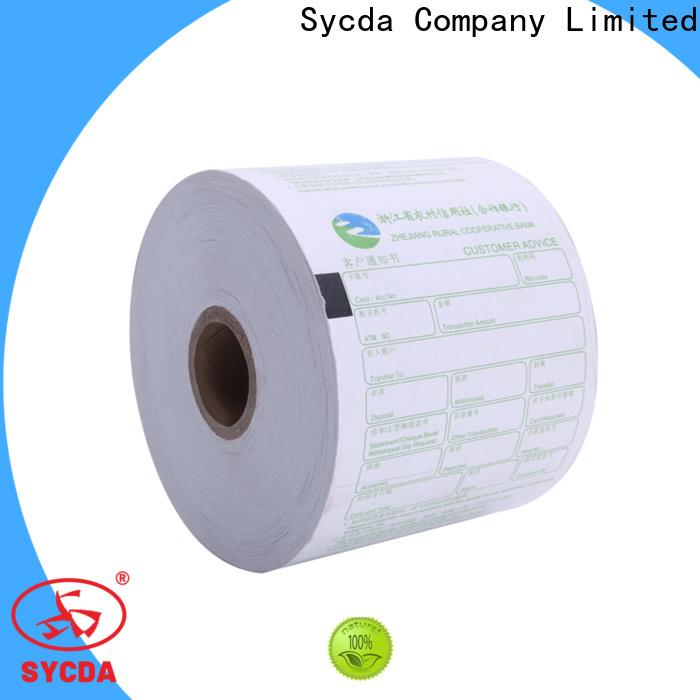Sycda jumbo receipt rolls factory price for logistics