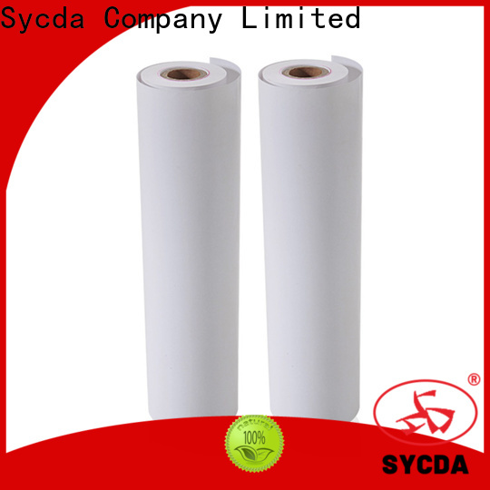 Sycda jumbo thermal rolls supplier for logistics