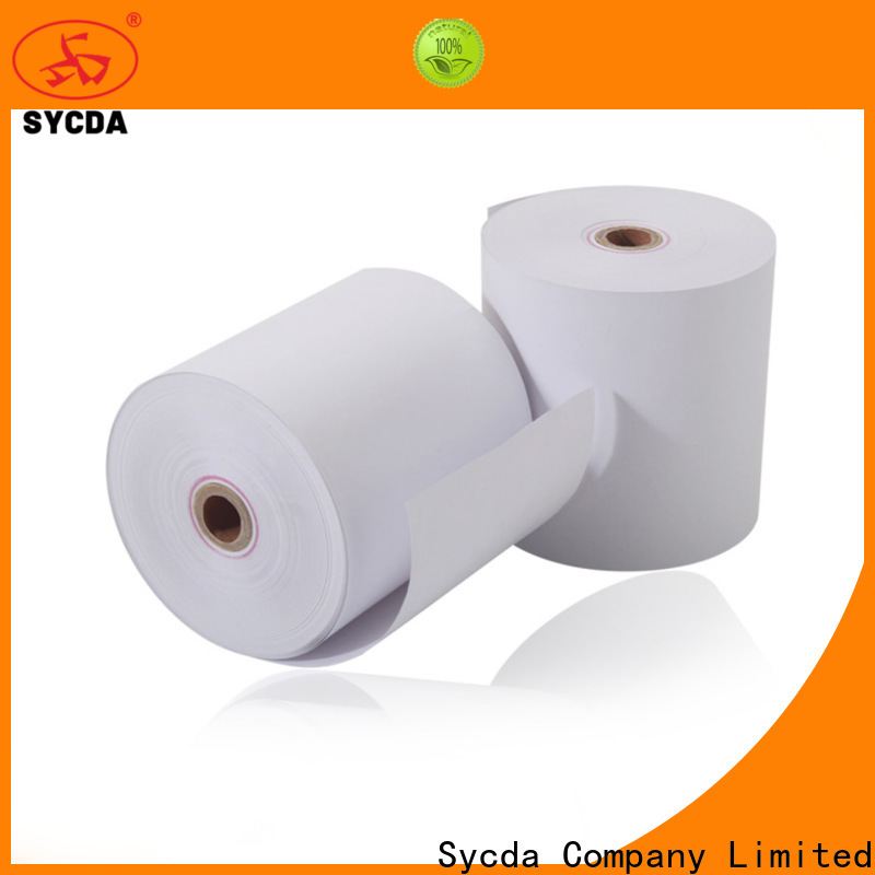 Sycda 80mm thermal receipt rolls supplier for movie ticket
