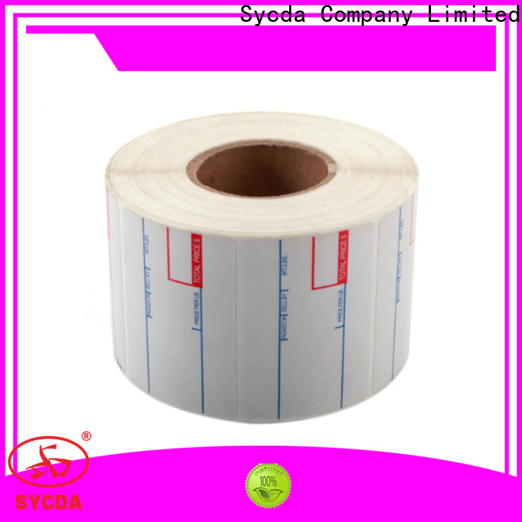 44mm self adhesive labels factory for banking