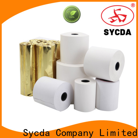 Sycda synthetic thermal rolls wholesale for retailing system