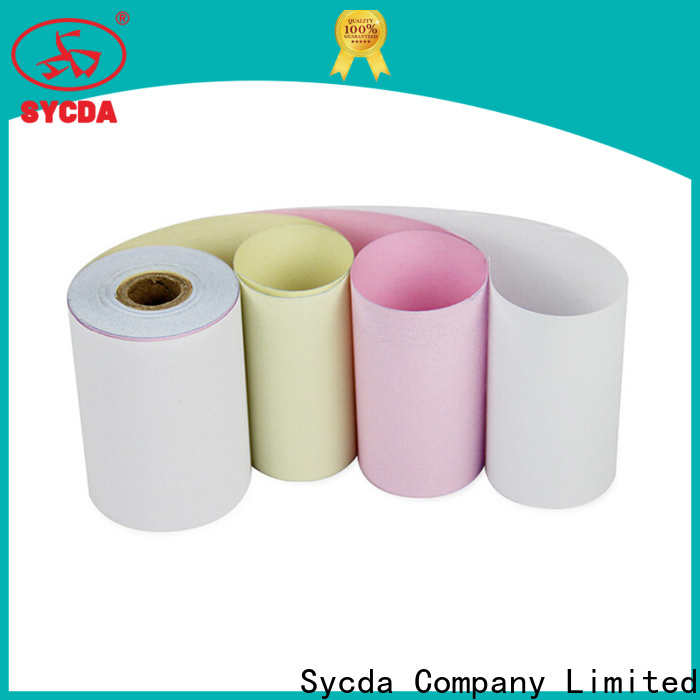 Sycda umbo roll  ncr carbon paper directly sale for banking