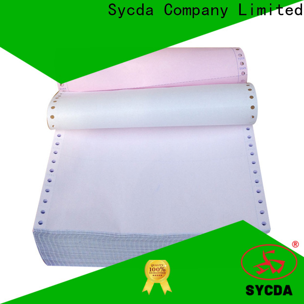 Sycda 610mm860mm ncr carbon paper manufacturer for computer