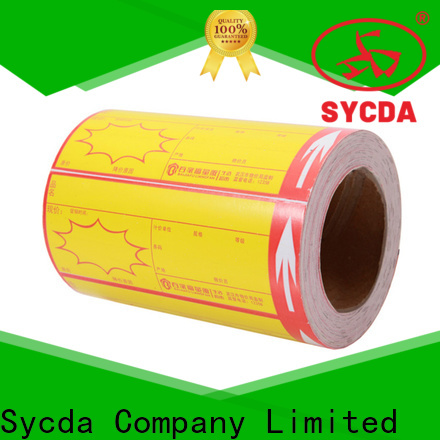pet printed labels with good price for logistics