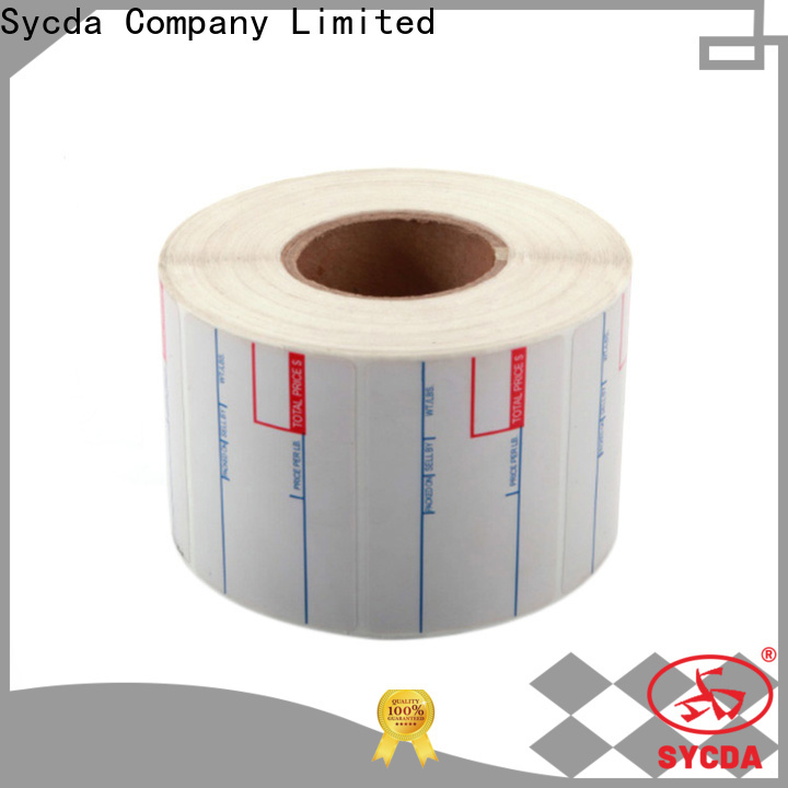 Sycda sticky address labels factory for supermarket