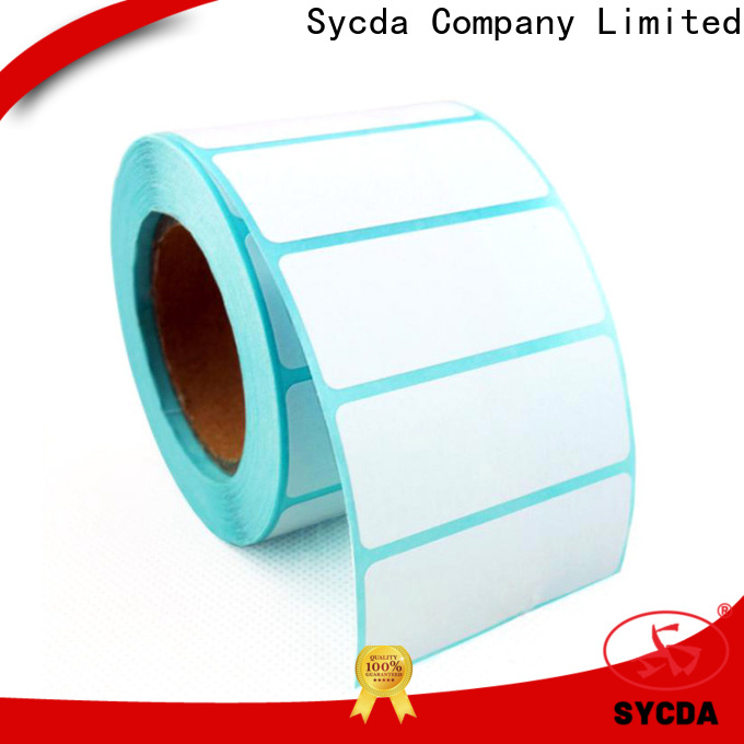 Sycda transparent self adhesive stickers atdiscount for logistics