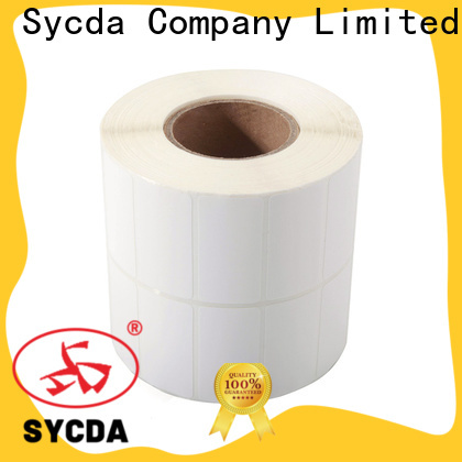 Sycda sticky label printing design for supermarket