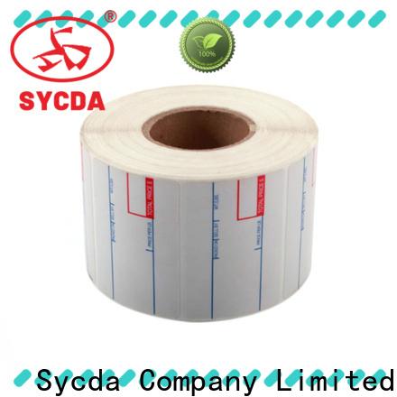 Sycda sticky address labels atdiscount for aviation field