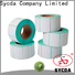 Sycda silver sticky label printing design for banking