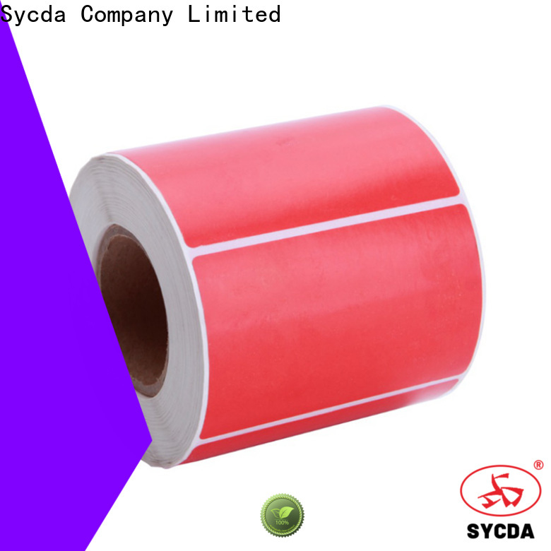Sycda 44mm self adhesive paper with good price for hospital