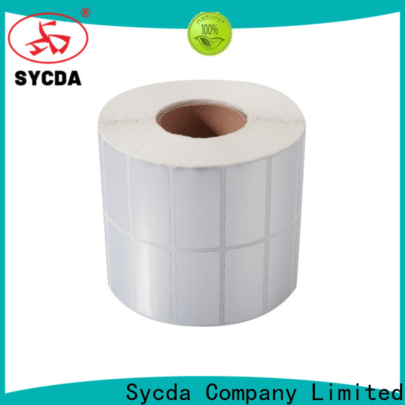 Sycda self adhesive labels atdiscount for supermarket