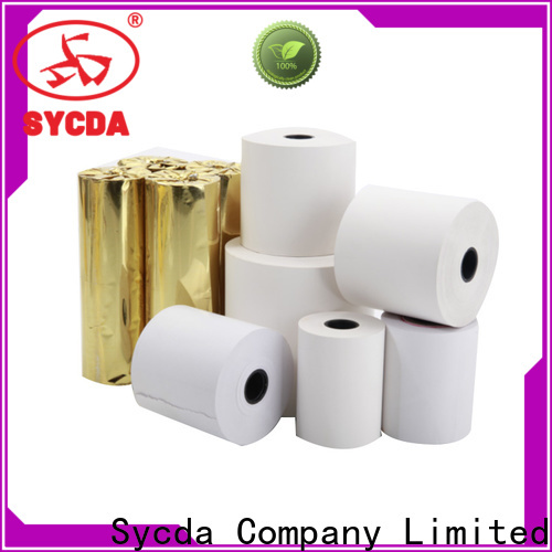Sycda printed cash register tape supplier for movie ticket