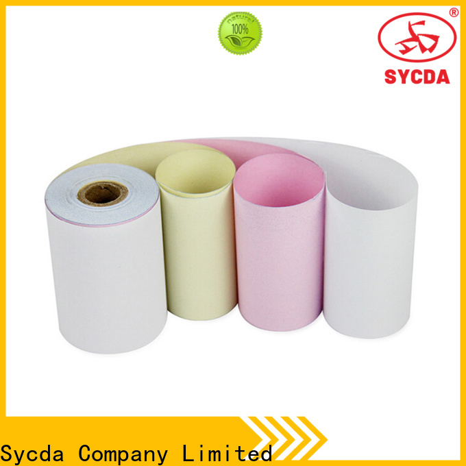 Sycda continuous blank carbonless paper series for computer