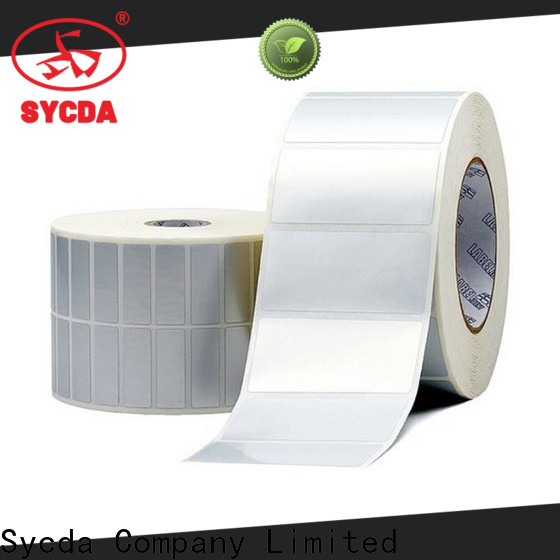 Sycda roll labels design for hospital