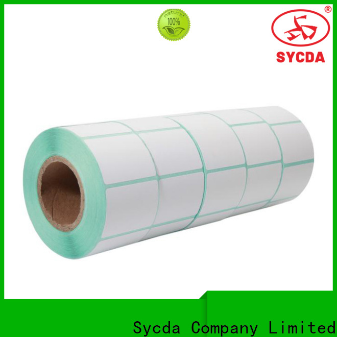 transparent printed adhesive labels design for logistics