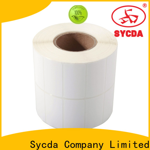 44mm sticky label printing factory for banking