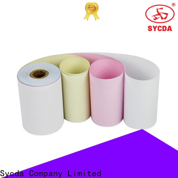 Sycda 610mm860mm ncr paper series for supermarket