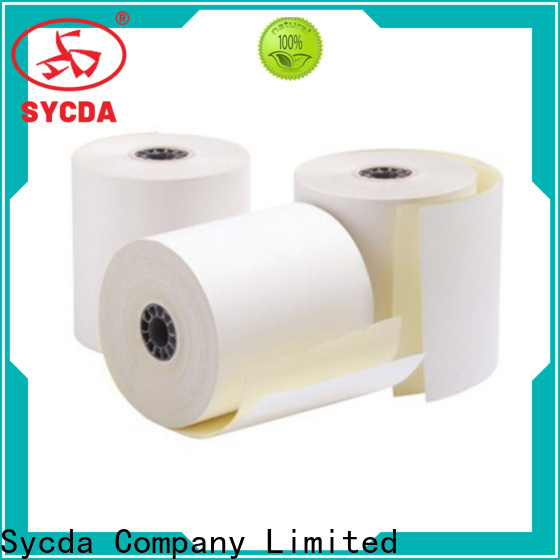 Sycda ncr ncr carbonless paper 2 plys manufacturer for supermarket