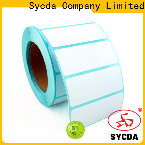white printed adhesive labels factory for aviation field