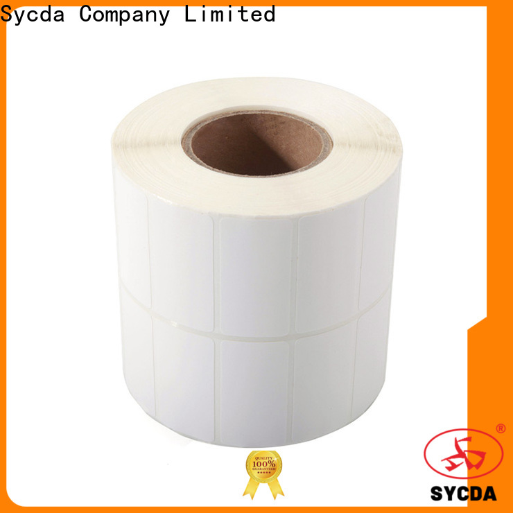 Sycda stick on labels with good price for supermarket