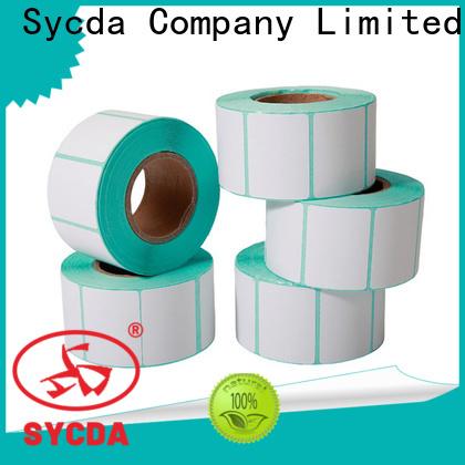 matte roll labels design for logistics