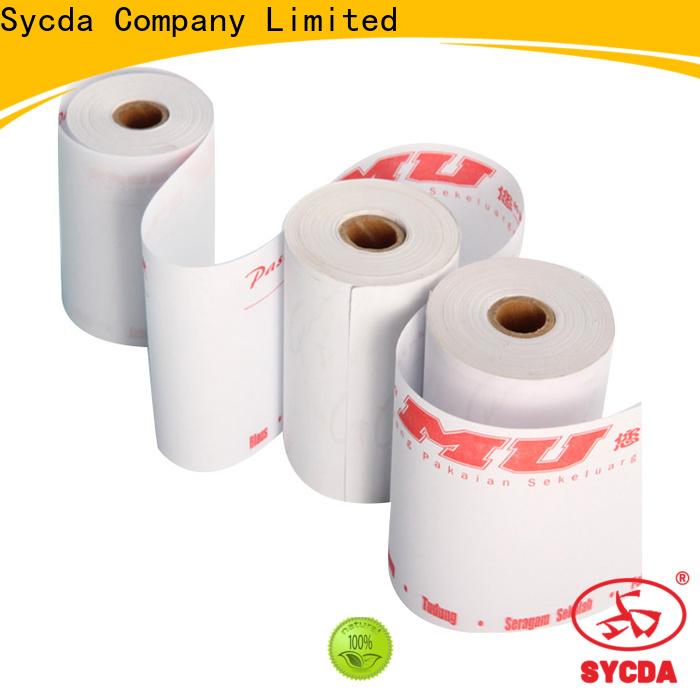 Sycda printed cash register rolls supplier for movie ticket